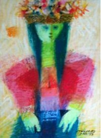 woman vendor by mauro (malang) santos