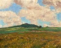 summer landscape by frantisek kavan