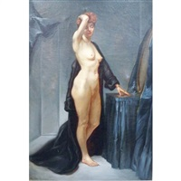 standing female nude by ronald lee anderson