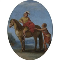 the charity of saint martin of tours by filippo d' angeli