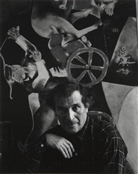 marc chagall by arnold newman