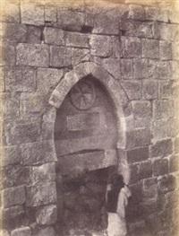 architecture des croisades, forteresse de karak by henri sauvaire