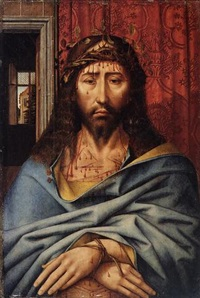 christ as the man of sorrows by colijn de coter