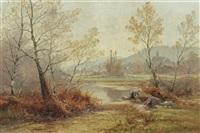 matinée d'automne dans le jura by albert gabriel rigolot