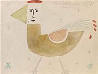 le petit oiseau by victor brauner