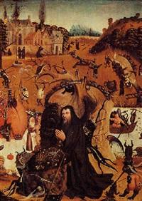 la tentation de saint antoine by pieter huys