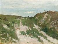 vid concarneau i bretagne by richard (sven r.) bergh