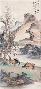 天闲逸态 (horse) by pu jin, pu quan and qi gong