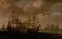 combat naval by aert van antum