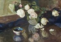 róże w wazonie by ludwik lisowski