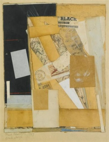 black nburgh by kurt schwitters