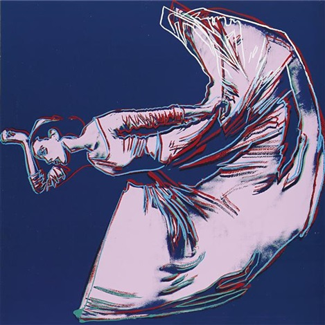 letter to the world (the kick) (from martha graham suite) by andy warhol