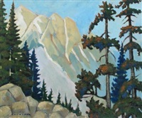 hike in yoho area by william (h.w.) townsend