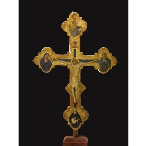 processional cross by jacopo del sellaio