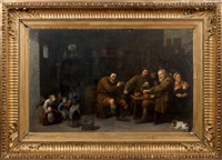 la famille de paysan by david ryckaert iii