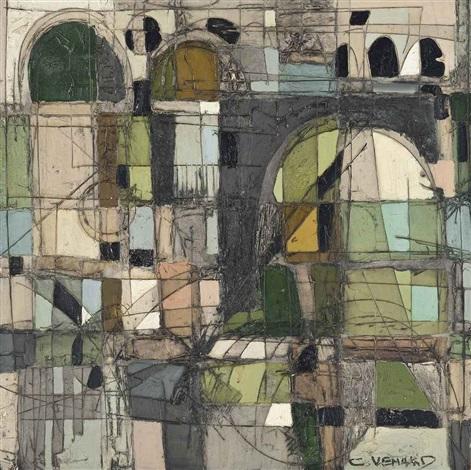 paysage abstrait by claude venard