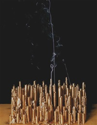 blown-out candles (fake gold) by hanna liden