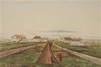main street, winnipeg, summer 1871 by ernest j. hutchins