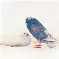 鴿ii (pigeon ii) by huang mingzhe