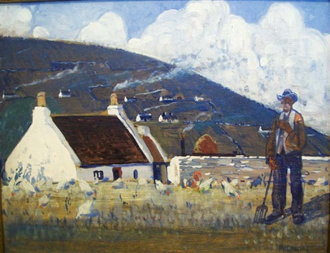achill island by maurice macgonigal