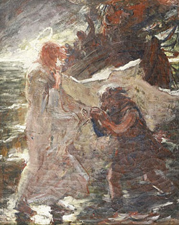 la pêche miraculeuse by léon joseph florentin bonnat