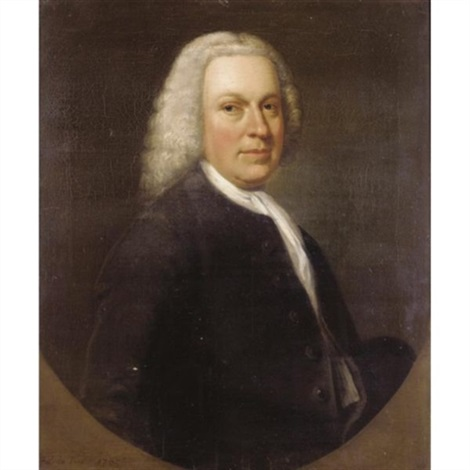 portrait of a gentleman traditionally identified as lord chesterfield by francis lindo