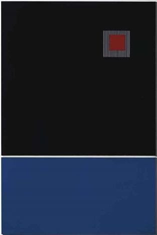 petit carré rouge by jesús rafael soto