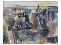 voiliers by jean dufy