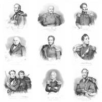 portrety polskich patriotów (9 works) by françois le villain