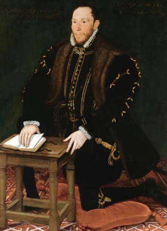 portrait of the blessed thomas percy 7th earl of northumberland by steven van der meulen