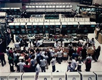 new york, stock exchange by andreas gursky