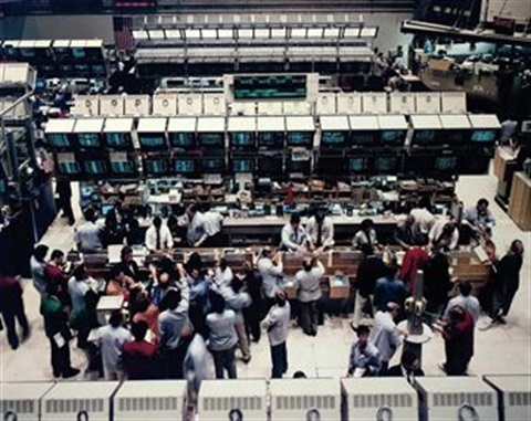 new york stock exchange by andreas gursky