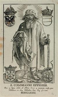 saint coloman debout by albrecht dürer