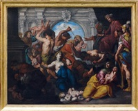 le massacre des innocents by niccolò de simone