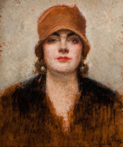 portret kobiety by alfons karpinski