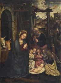 l'adoration des bergers by martino piazza
