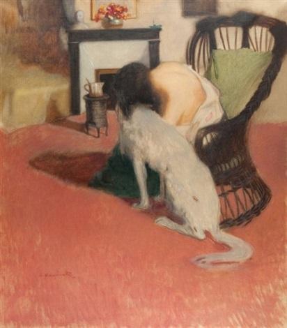 hania z psem by alfons karpinski