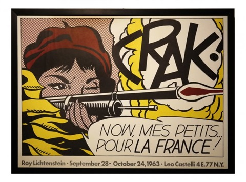 Crak, Exhibition Poster by Roy Lichtenstein on artnet