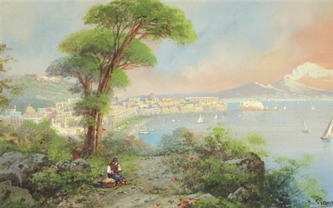 the bay of naples by y gianni