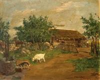 rancho con cabra by juan bautista diógenes hequet
