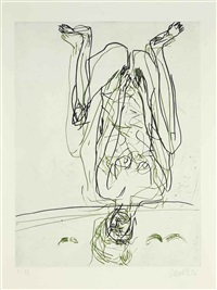 composition by georg baselitz