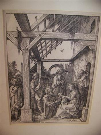 ladoration des mages by albrecht dürer