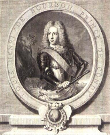 louis august de bourbon prince de dombes louis henri de bourbon prince de condé 2 works by gérard edelinck