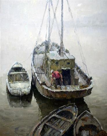 pesquero del rio by oscar antonio vaz