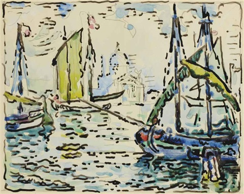 venise le rédempteur after venise le rédempteur cachin no 472 by paul signac