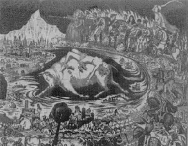 the rape of europa by ralph fabri