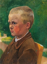 farmer boy by friedrich (fritz) ahlers-hestermann