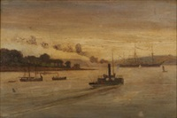 cork harbour by joseph poole addey