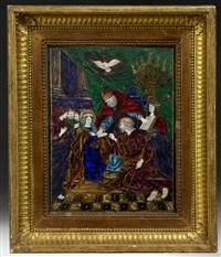 le mariage de la vierge by jean vigier court the younger
