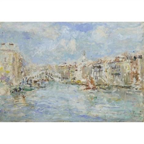 veduta di venezia by luigi mantovani